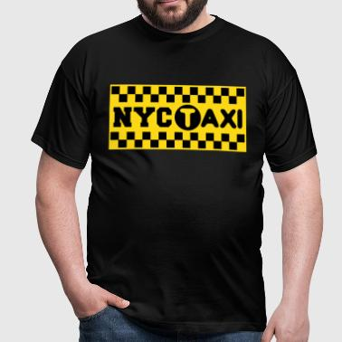 new york city taxi  - T-shirt Homme