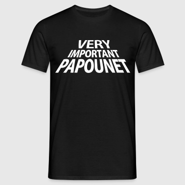 Very Important Papounet Papa (1c) - T-shirt Homme