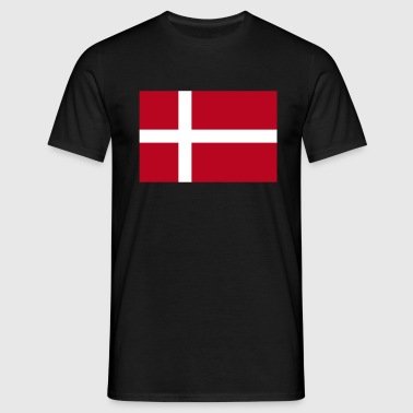 Danish Flag - Men's T-Shirt