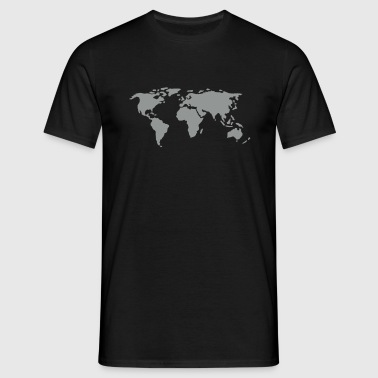 map - Men's T-Shirt