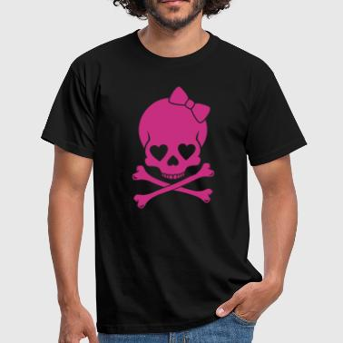 Girlie Skull - Men's T-Shirt
