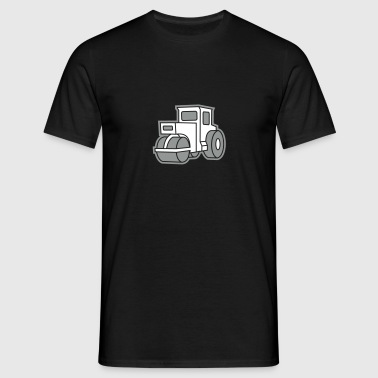 2 col - Dampfwalze Traktoren Steam-powered rollers Tractors - T-shirt Homme