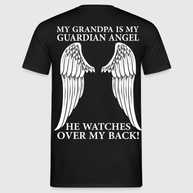 My Grandpa Is My Guardian Angel - Men's T-Shirt