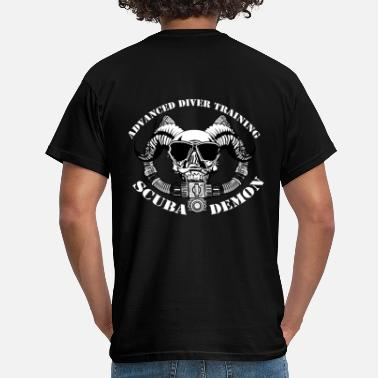 Scuba Diving Scubademon Jacket Support Diver Economy - Men's T-Shirt