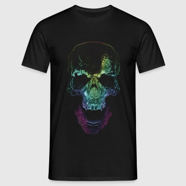Skull - Mens Tee (Black) - Men's T-Shirt