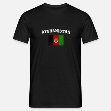 Afghanistan Superheld Flagge Manner T Shirt Spreadshirt