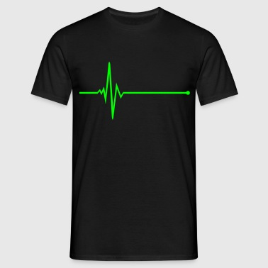 Pulse - frequency - Men's T-Shirt