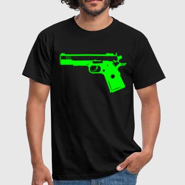 Pistolet arme 9mm Gun Weapon 1c - T-shirt Homme