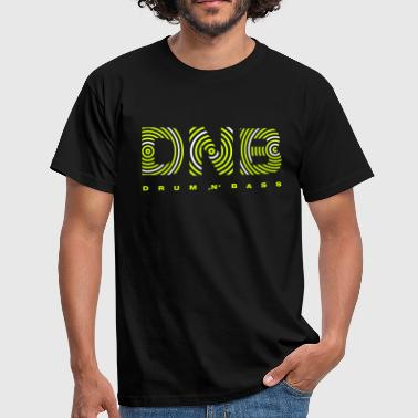 Drum 'n' Bass circle 2 - Männer T-Shirt