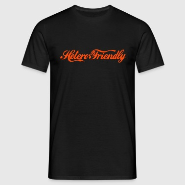 hetero friendly - T-shirt Homme