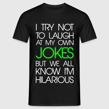 Jokes - Men's T-Shirt