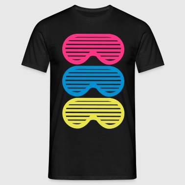 Shutter Shades x 3 - Men's T-Shirt