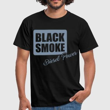 Black smoke diesel power - Men's T-Shirt