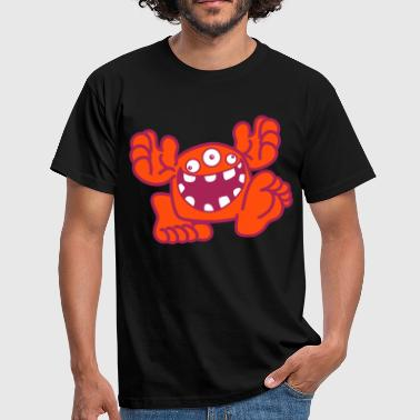 Proud To Be A Monster Cartoon by Cheerful Madness!! online shop - Men's T-Shirt