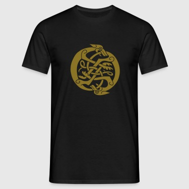 Two Celtic Beasts - Männer T-Shirt
