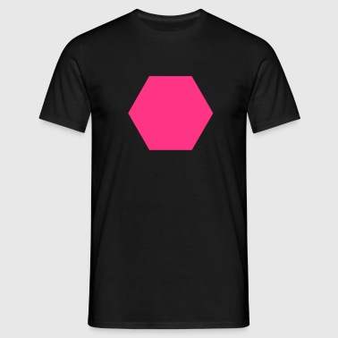 Hexagon - Men's T-Shirt