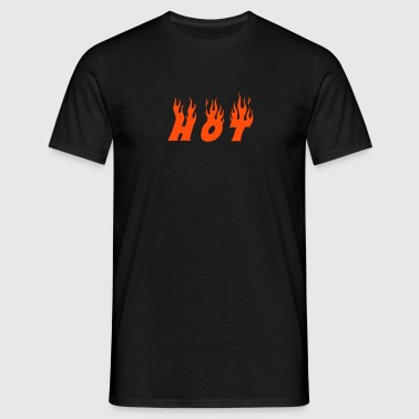 hot - Men's T-Shirt