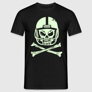 DEFENSE SKULL - Männer T-Shirt