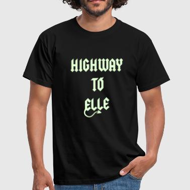 Highway To Elle diablo1C  - T-shirt Homme