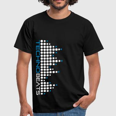 techno_beat_01 - Men's T-Shirt
