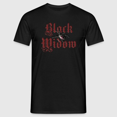 black_widow - Mannen T-shirt