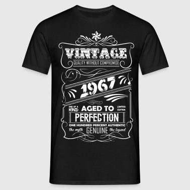 Vintage Aged To Perfection 1967 - Men's T-Shirt