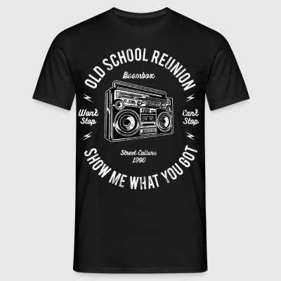 BOOMBOX - Ghetto Blaster Shirt Design - Men's T-Shirt