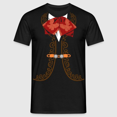 Mexiko Mariachi Suit  - T-shirt herr