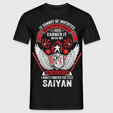 I Own It Forever The Title Saiyan - Men's T-Shirt