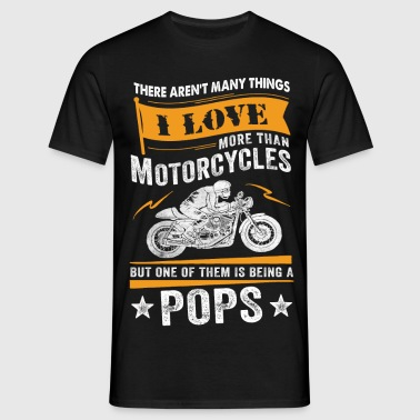 Motorcycles Pops - Men's T-Shirt