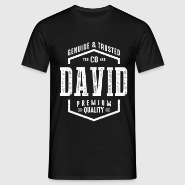David  Name - Men's T-Shirt