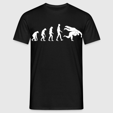 Evolution judo - Männer T-Shirt