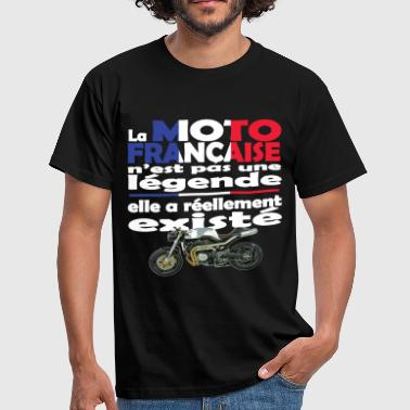 N°127-MOTO-FRANCAISE.png - T-shirt Homme