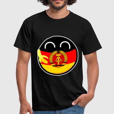 East Germanyball - Mannen T-shirt