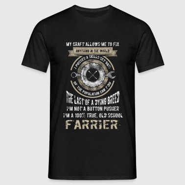 My craft allows me to fix anything in the world, I - Men's T-Shirt
