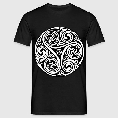 Celtic Art Triskele - Men's T-Shirt