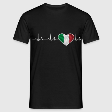 « Heartbeat » - Italie - T-shirt Homme