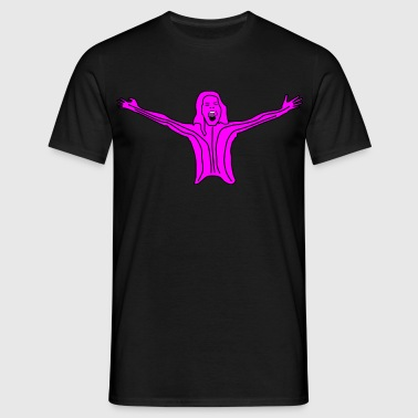 pink lady  - Men's T-Shirt