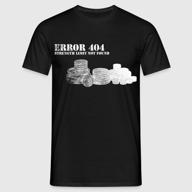 Error 404 Message - Women's Muscle 2 - Men's T-Shirt