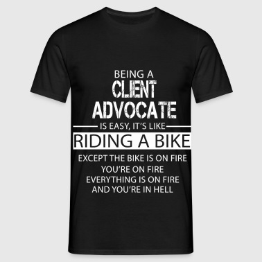 Client Advocate - Men's T-Shirt