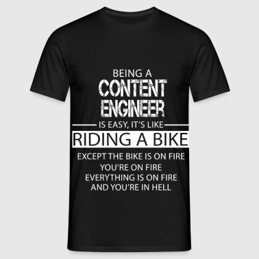 Content Engineer - Men's T-Shirt