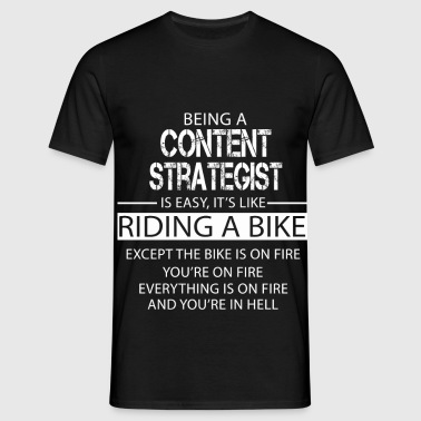 Content Strategist - Men's T-Shirt