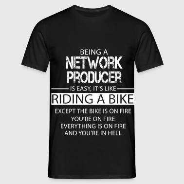 Network Producer - Men's T-Shirt