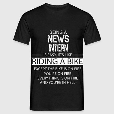 News Intern - Men's T-Shirt