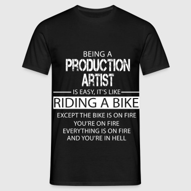 Production Artist - Men's T-Shirt
