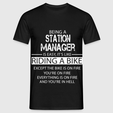Station Manager - Men's T-Shirt