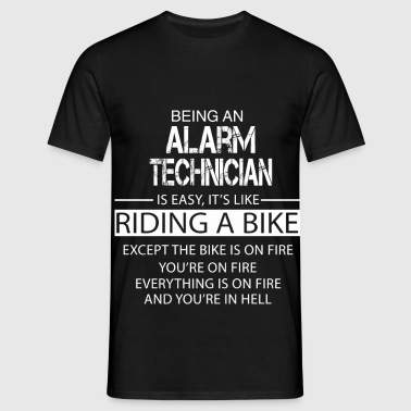 Alarm Technician - Men's T-Shirt