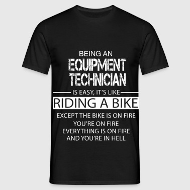 Equipment Technician - Men's T-Shirt