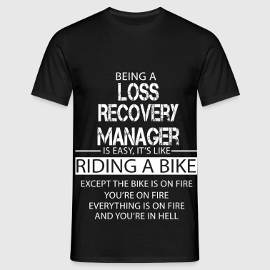 Loss Recovery Manager - Men's T-Shirt