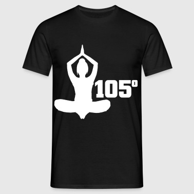 105 degrees - Men's T-Shirt